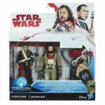 StarWars figurine : Star Wars Force Link figurine chirrut imwe et baze malbus neuf sous blister
