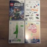 Wii Game Bundle x 4: Star Wars III, Wii Play, - Bonne affaire StarWars