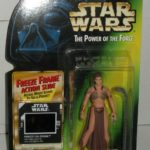 StarWars collection : Kenner Star Wars The Power of the Force Princess Leia Organa as Jabba's Prisoner