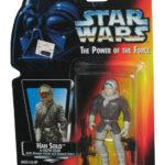 StarWars collection : Star Wars Pouvoir de la Force Han Solo en Hoth Gear Figurine - (Rouge Carte )
