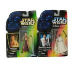StarWars figurine : Star Wars Lot 2 Princess Leia Organa Power of the Force POTF 1997 Figures