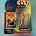 StarWars collection : Kenner Star Wars The Power of the Force: Princess Leia Organa as Jabbas Prisoner
