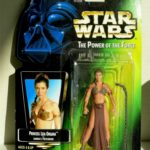 StarWars figurine : PRINCESS LEIA ORGANA JABBA'S PRISONER STAR WARS FIGURINE MINT IN PACKAGE