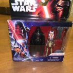 "StarWars figurine : STAR WARS REBELS DARTH VADER &  AHSOKA TANO NEW SEALED 3.75"" ACTION FIGURE"