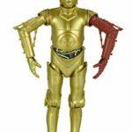 Figurine StarWars : Star Wars Série Noire 15.2cm C-3PO Résistance Base Figure Takara Tomy Neuf Japon