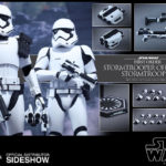Figurine StarWars : Hot Toys Star Wars Force Awakens Premier Ordre Stormtrooper Officier Figure Set