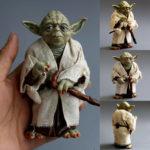 StarWars figurine : NOUVEAU 12 cm Star Wars Clone Wars Yoda Jedi Master ACTION FIGURES Pour Enfants