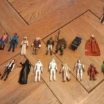 StarWars collection : Lot de figurines KENNER STAR WARS, vintage 1977/1983, originales