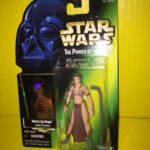 StarWars figurine : Star Wars Princess Leia Organa Jabba Prisoner POTF Action Figure 1997 Kenner NIP