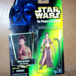 Figurine StarWars : Star Wars puissance The Force Leia Organa Jabbas Prisonnier Kenner