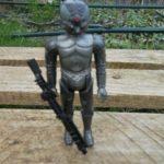 StarWars figurine : Zuckuss (4 Lom)  / Star Wars vintage Kenner ESB loose Action Figure Figurine 82*