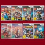 Nintendo WII ► Lego Spiel nach Wahl - Batman - pas cher StarWars