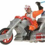 StarWars collection : Star Wars Customs Luke Skywalker's Rebel Chopper Moto Rev Ça