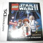 MANUALE ISTRUZIONI NINTENDO DS LEGO STAR WARS - Occasion StarWars