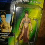 StarWars figurine : Kenner Star Wars The Power of the Force: Princess Leia Organa as Jabbas Prisone…