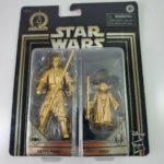 StarWars figurine : Star Wars Commemorative Edition Skywalker Saga Gold Darth Maul And Yoda