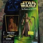 StarWars figurine : Star Wars Power of the Force Princess Leia as Jabbas Prisoner by Kenner