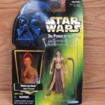 Figurine StarWars : Star Wars The Power of the Force: Princess Leia Organa as Jabbas Prisoner Action