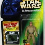 StarWars figurine : 1997 Kenner Star Wars Potf Bespin Luke Skywalker Figurine avec Gel Cadre Scellé