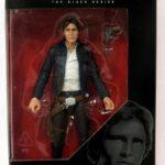"StarWars figurine : Hasbro Star Wars Série Noire 6 "" Bespin Han Solo Figurine"