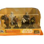 StarWars figurine : Disney Parks Star Wars Solo Movie Figurine Set Lando Han Solo Chewbacca NIB