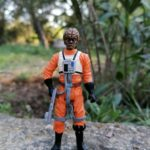 "StarWars collection : Custom Star Wars rebel pilot resistance 3""75 figure 1/18"