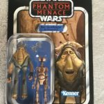 StarWars collection : STAR WARS VINTAGE COLLECTION BEN QUADINAROS & OTOGA-222 VC81 TPM Unpunched