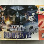 STAR WARS SHADOWS OF THE EMPIRE NINTENDO 64 - Avis StarWars
