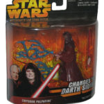 StarWars collection : Star Wars Empereur Palpatine Changer pour Darth Sidious Figurine - (Revenge de