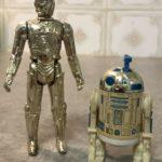 Figurine StarWars : figurine star wars vintage R2d2 SensorosCope Et C3po Good Condition