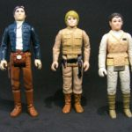 Figurine StarWars : Figurine star wars Vintage x3