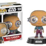 StarWars figurine : Figurine Star Wars The Force Awakens - Maz Kanata Pop 10cm