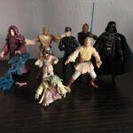 StarWars collection : Lot Bundle Figurine Figure x8 star wars kenner hasbro anakin darth vader yoda