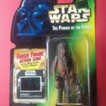 Figurine StarWars : STAR WARS - CHEWBACCA - JABBA - THE POWER OF THE FORCE - FIGURINE KENNER - 6945