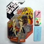 StarWars figurine : CANADIAN BRAND NEW STAR WARS T30AC 2007 SAGA LEGENDS BATTLE DROIDS  * VERSION 4