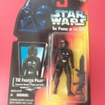StarWars figurine : STAR WARS - TIE FIGHTER PILOT - THE POWER OF THE FORCE - FIGURINE KENNER - 6841