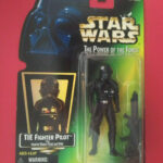 StarWars figurine : STAR WARS - TIE FIGHTER PILOT - THE POWER OF THE FORCE - FIGURINE KENNER - 6836