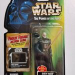 StarWars collection : STAR WARS FIG DE 10 CM DARTH VADER SERIE THE POWER OF THE FORCE SOUS BLISTER