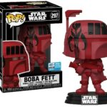 StarWars figurine : Figurine Star Wars - Boba Fett (Red Futura) WonderCon 2020 Limited Edition with