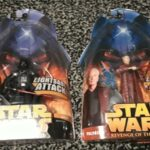 StarWars figurine : Star Wars Lot Action Figure ROTS Vader, Palpatine 3,75'