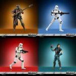 Figurine StarWars : Star Wars Vintage Collection 2020 Wave 1 assortiment 4 figurines 10cm préorder