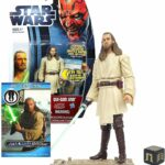 StarWars collection : Star-Wars figurine Hasbro Movie Heroes Qui-Gon Jinn NEUVE sous blister