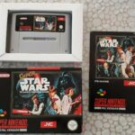 jeu Siper star wars  complet super Nintendo  - Occasion StarWars