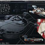 "Figurine StarWars : Figurine star wars Luke & Lanspeeder Black series 6"" hasbro"
