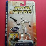 StarWars collection : STAR WARS - CLONE TROOPER - CLONE WARS 2003 - FIGURINE - R 7794