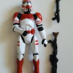 "StarWars figurine : Star wars action figure Hasbro 3,75"" Shock trooper"