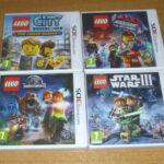 4 jeux nintendo 3DS / 3DS XL / 2DS - LEGO - Avis StarWars